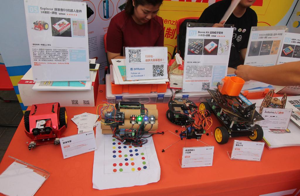 Фотоэкскурсия по выставке MakerFaire 2016 в Шэньчжэне, часть 3 (+видео) - 13