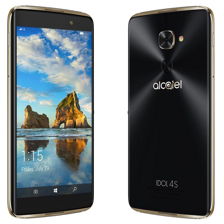 Названа дата начала продаж и цена смартфона Alcatel Idol 4S