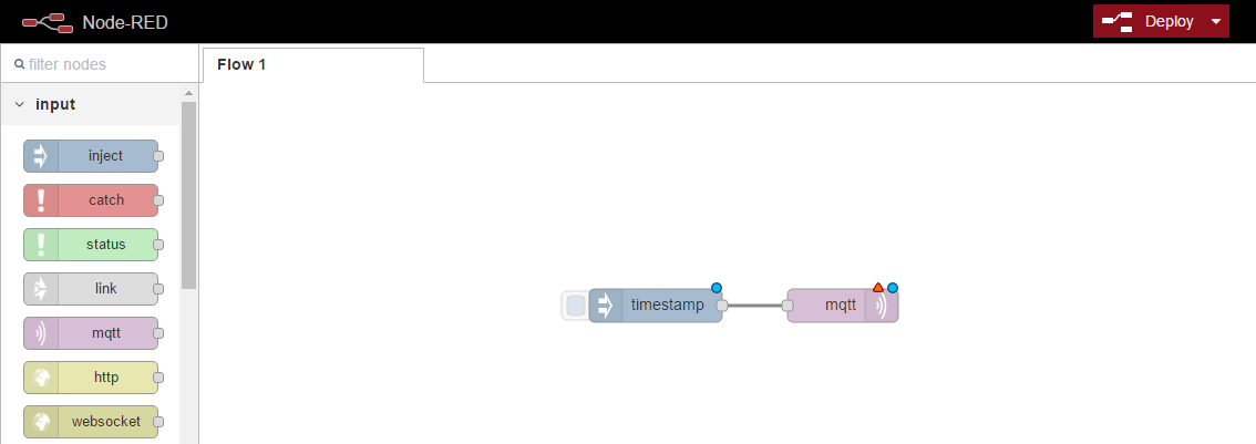 Подключение шлюзов Intel для интернета вещей к AWS и обмен данными с облаком при помощи Node-RED или Python - 27