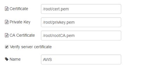 Подключение шлюзов Intel для интернета вещей к AWS и обмен данными с облаком при помощи Node-RED или Python - 33