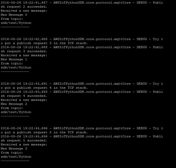 Подключение шлюзов Intel для интернета вещей к AWS и обмен данными с облаком при помощи Node-RED или Python - 46
