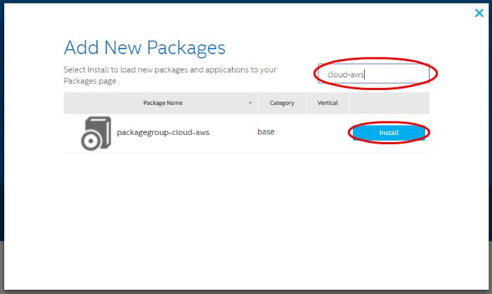 Подключение шлюзов Intel для интернета вещей к AWS и обмен данными с облаком при помощи Node-RED или Python - 6