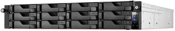 Хранилище Asustor AS6212RD поддерживает объединение четырех портов Gigabit Ethernet