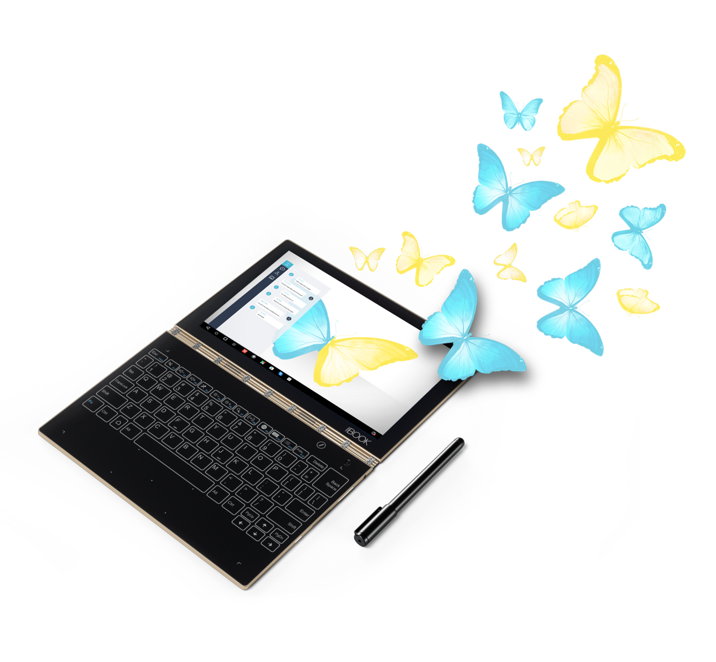 Yoga Book: эффект ореола на клавиатурах нового поколения - 4