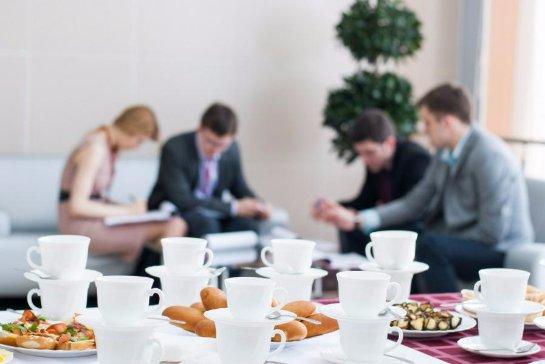 Кофе-брейки на работе повышают работоспособность