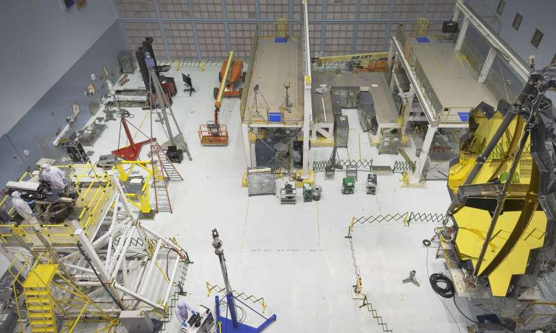 НАСА завершило предварительные тесты зеркала телескопа «Джеймс Уэбб» - 3