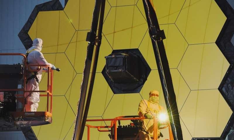 НАСА завершило предварительные тесты зеркала телескопа «Джеймс Уэбб» - 4