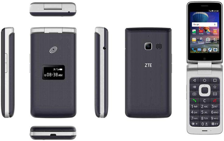 Раскладной смартфон ZTE Cymbal-T оценен в $100