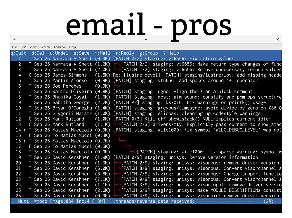 Разработка ядра Linux держится на электронной почте - 2