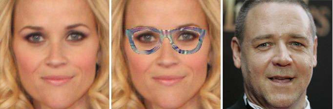 Специальные очки меняют личность человека для системы распознавания лиц - 1