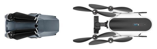GoPro Karma vs DJI Mavic Pro: какой из двух складных дронов лучше? - 2