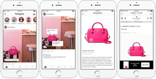 Скоро в Instagram можно будет продавать товары
