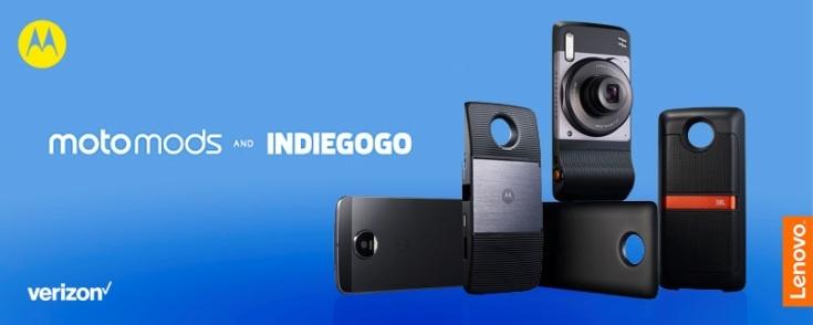 Lenovo поспособствует появлению новых модулей для смартфонов Moto Z