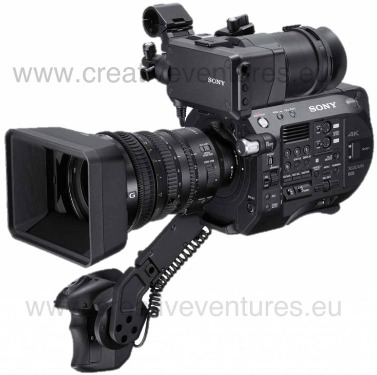 Камера Sony PXW-FS7 MKII будет поддерживать цветовое пространство BT 2020