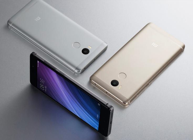 Смартфон Xiaomi Redmi 4 оснащается разными экранами в зависимости от версии