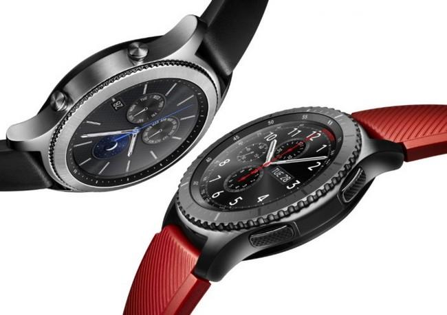 Умные часы Samsung Gear S3 поступят в продажу 18 ноября