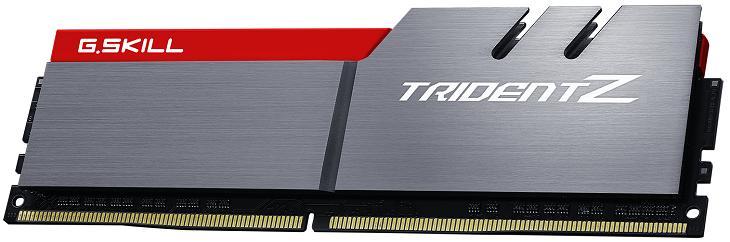 Набор G.Skill Trident Z DDR4-3600 бащируется на микросхемах Samsung