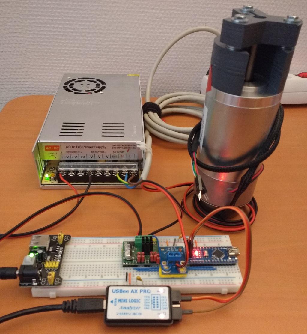 Измерение сопротивления и индуктивности двигателя постоянного тока - 13