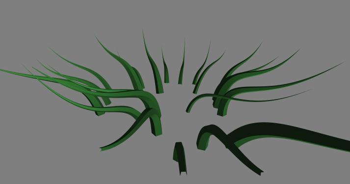 Процедурная растительность на OpenGL и GLSL - 12