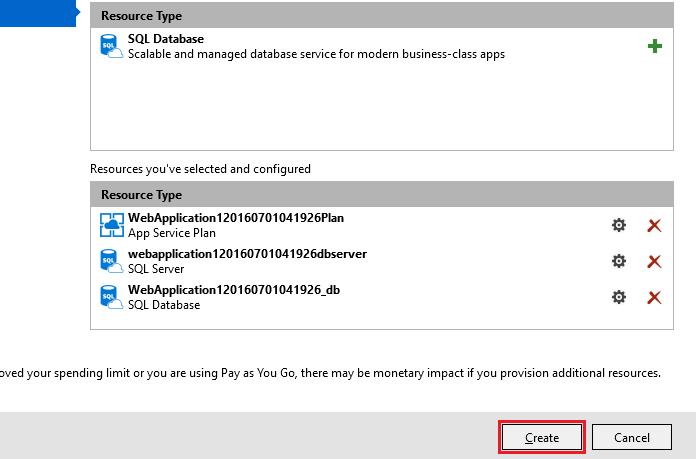 ASP.NET Core: Развертывание веб-приложения в службе приложений Azure с помощью Visual Studio - 15