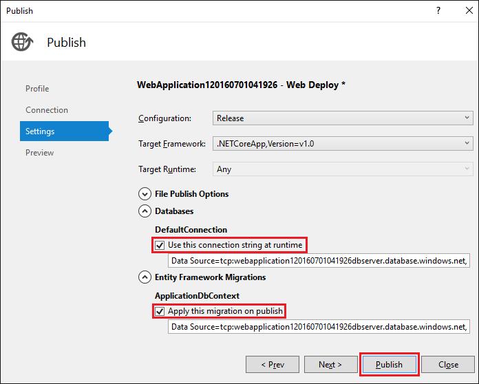 ASP.NET Core: Развертывание веб-приложения в службе приложений Azure с помощью Visual Studio - 17