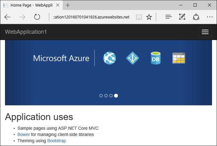ASP.NET Core: Развертывание веб-приложения в службе приложений Azure с помощью Visual Studio - 18