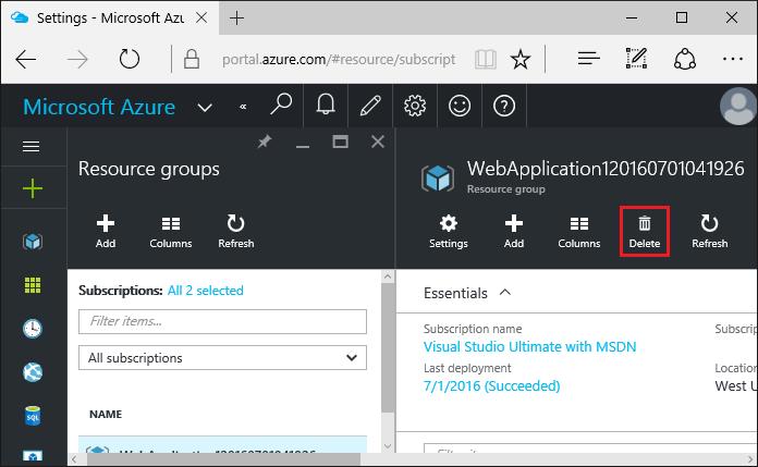 ASP.NET Core: Развертывание веб-приложения в службе приложений Azure с помощью Visual Studio - 21