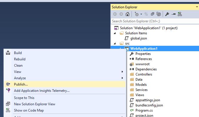 ASP.NET Core: Развертывание веб-приложения в службе приложений Azure с помощью Visual Studio - 7