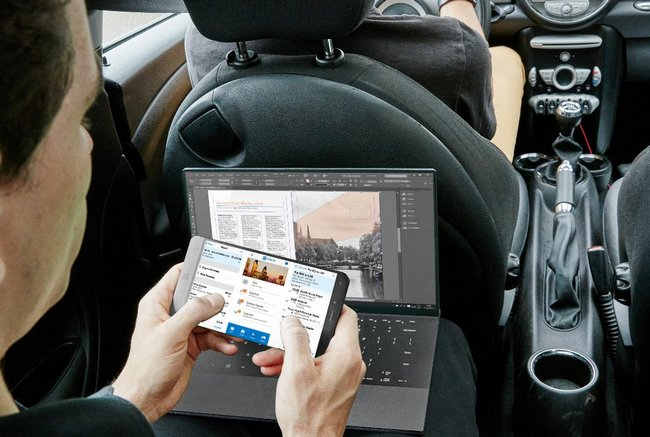 Устройство, которое на днях выдавали за Surface Phone, является отмененным смартфоном Dell