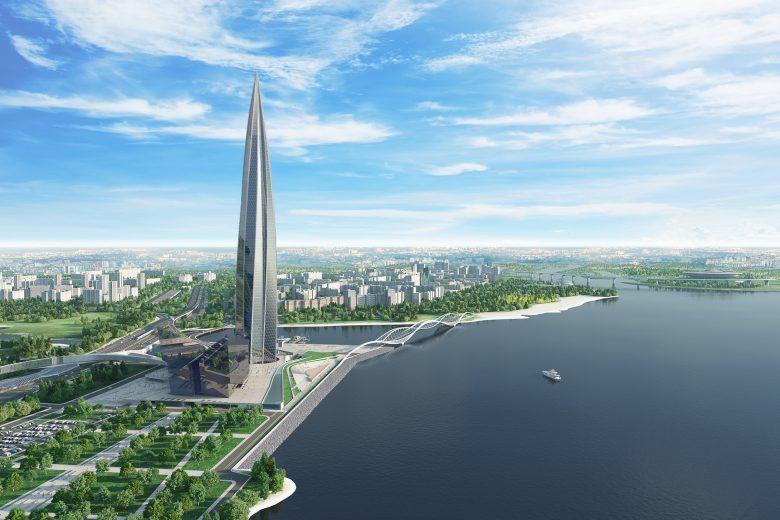 Все о том, как строится самый высокий небоскреб Европы - 1