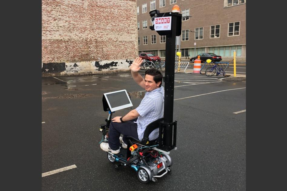 В Массачусетском технологическом институте разработали робоскутер - 2