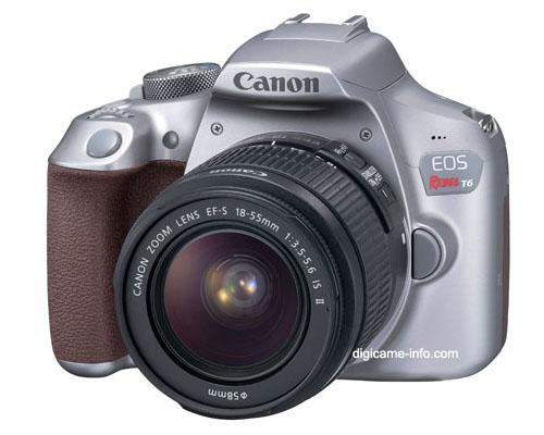 В продаже серебристый вариант камеры Canon EOS Rebel T6 (EOS 1300D) появится до конца года