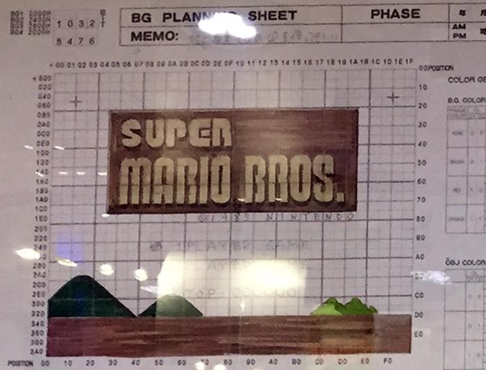 Чудесные эскизы игры Super Mario Bros - 2