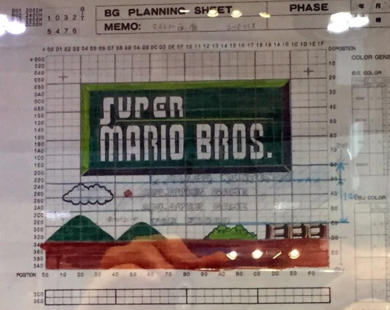 Чудесные эскизы игры Super Mario Bros - 3