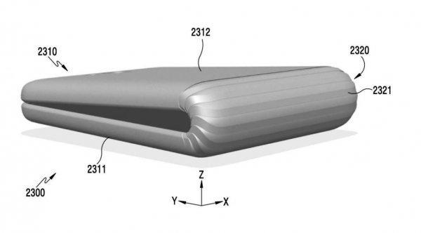 Патентная подкладка смартфона Samsung Galaxy X - 3