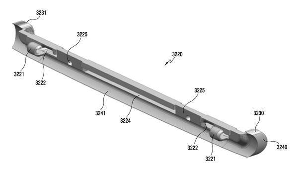 Патентная подкладка смартфона Samsung Galaxy X - 6