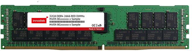 Модули памяти Innodisk DDR4-2666 выпускаются объемом 8, 16 и 32 ГБ