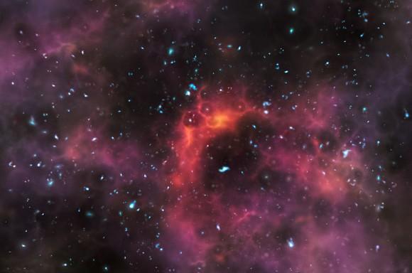 Когда во Вселенной появился первый свет? - 4