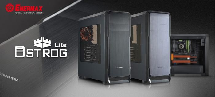 Корпус Enermax Ostrog Lite поддерживает видеокарты длиной до 390 мм