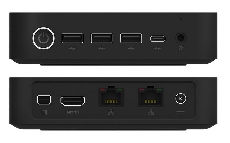 Новый мини-ПК ECS Liva Z оснастят портом USB-C