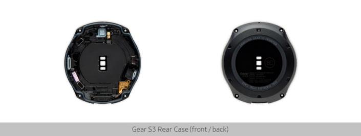 Samsung показала строение часов Gear S3
