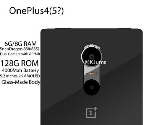 Новый флагман OnePlus может получить камеры смешанной и дополненной реальностей, а также 8 ГБ ОЗУ