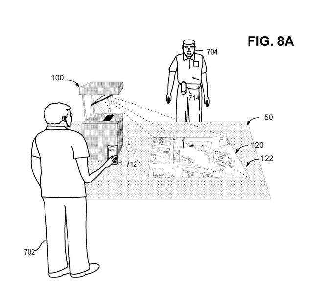 Microsoft запатентовала более доступную версию сенсорного стола Surface