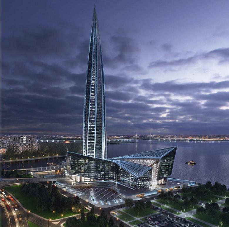 Как управляется вертикаль небоскреба «Лахта центр»? - 7
