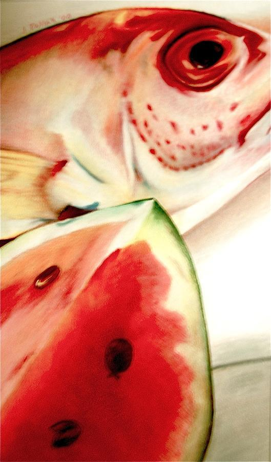 Fish Out Of Watermelon by Joan Pollak