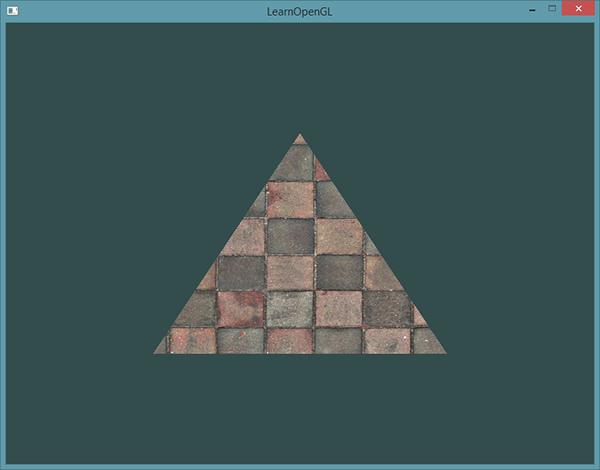 Кирпичная стена на треугольнике