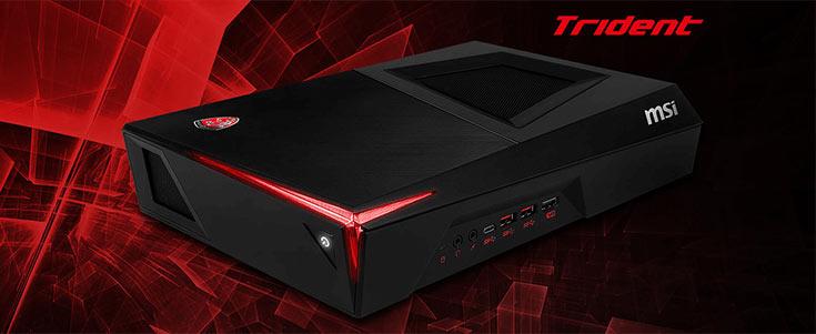 В конфигурацию Trident входит процессор Intel Core i7-6700 или i5-6400