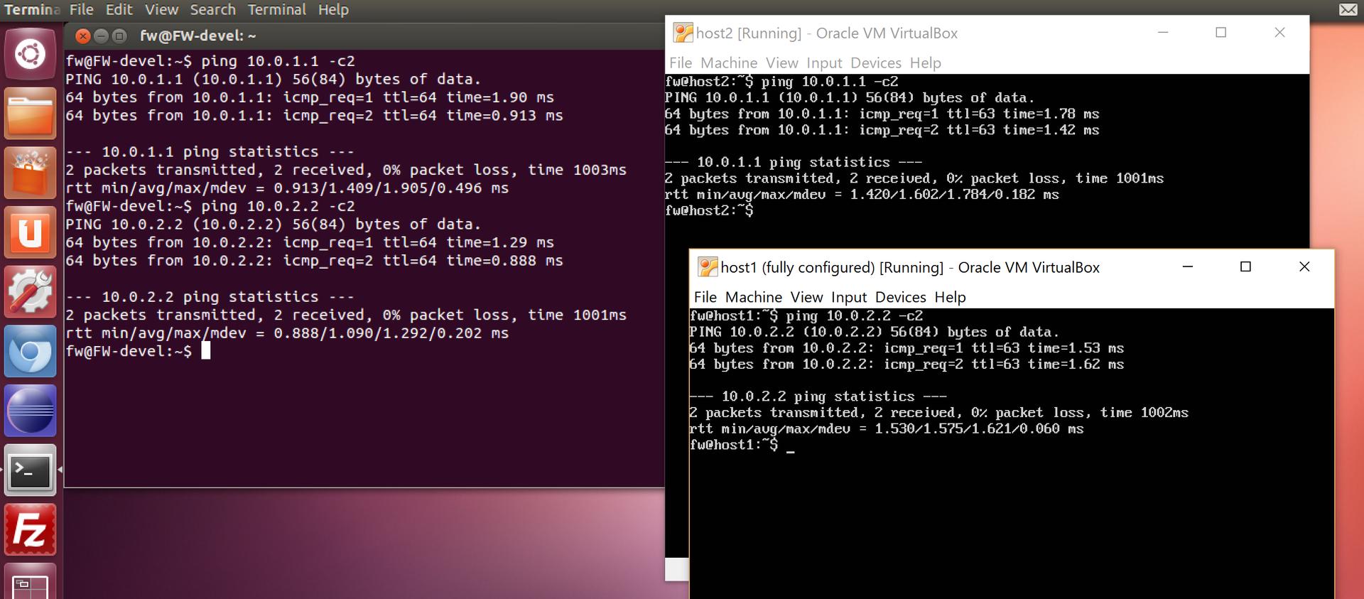 Создание и тестирование Firewall в Linux, Часть 1.1 Виртуальная лаборатория - 12