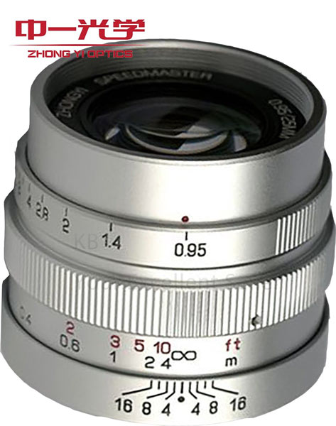 Цена объектива Mitakon Speedmaster 25mm f/0.95 — $380