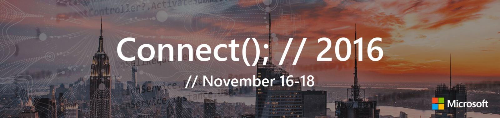 Connect(); -- 2016: Текстовая трансляция - 1